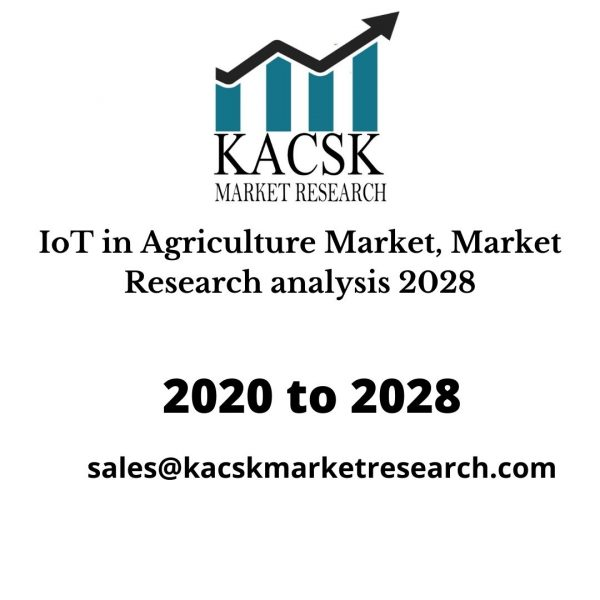 IoT in Agriculture Market, Market Research analysis 2028