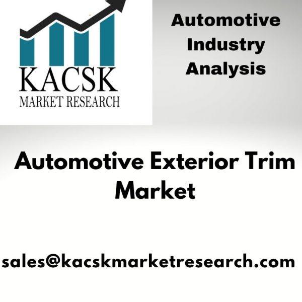 Automotive Exterior Trim Market