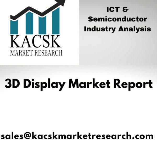 3D Display Market report