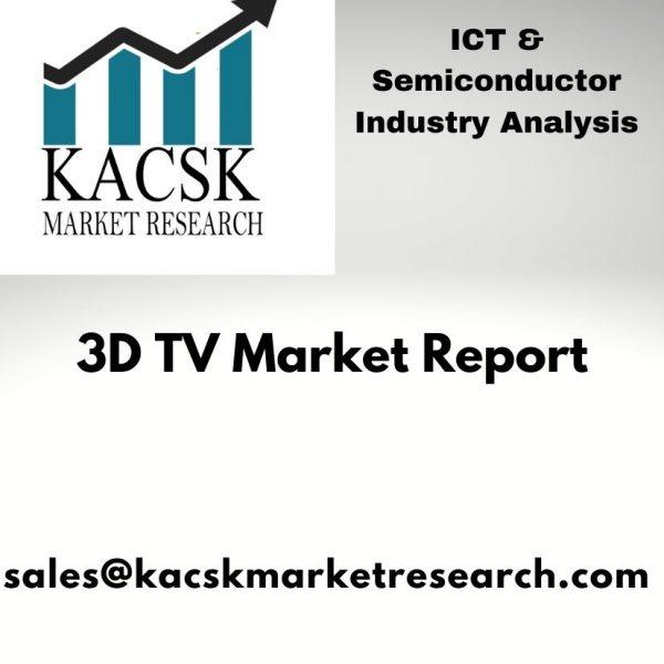 3D TV Market report,