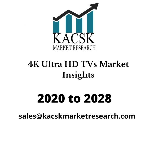 4K Ultra HD TVs Market Insights