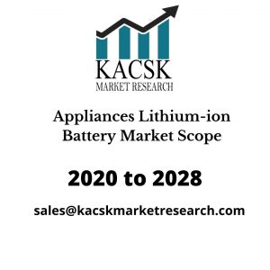Appliances Lithium-ion Battery Market Scope