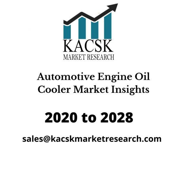 Automotive Engine Oil Cooler Market Insights