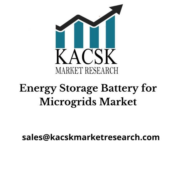 Energy Storage Battery for Microgrids Market