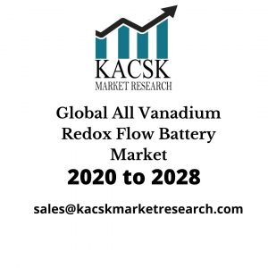 Global All Vanadium Redox Flow Battery Market,