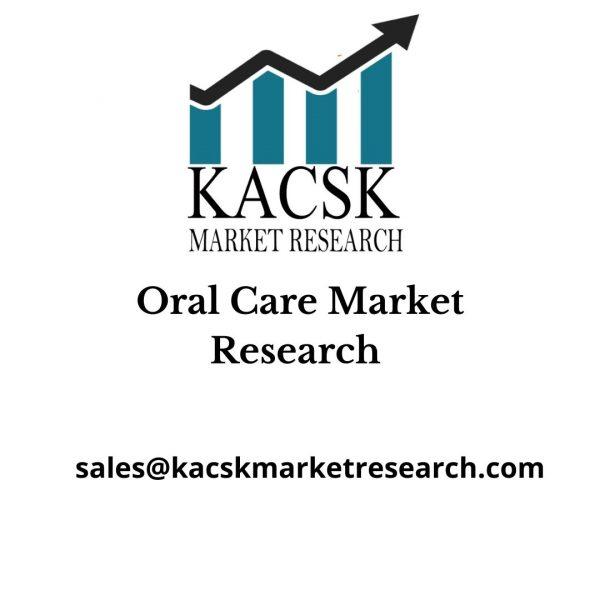 Oral Care Market Research