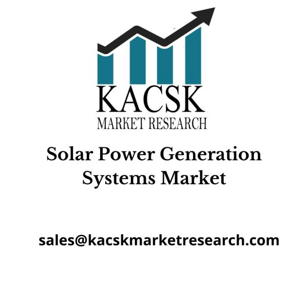 Solar Power Generation Systems Market