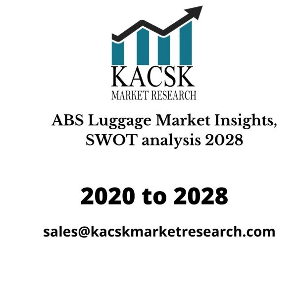 ABS Luggage Market Insights, SWOT analysis 2028
