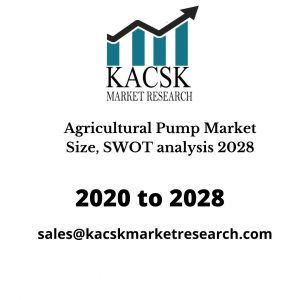 Agricultural Pump Market Size, SWOT analysis 2028