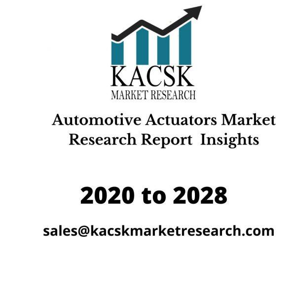 Automotive Actuators Market Research Report Insights
