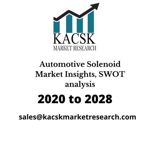 Automotive Solenoid Market Insights, SWOT analysis