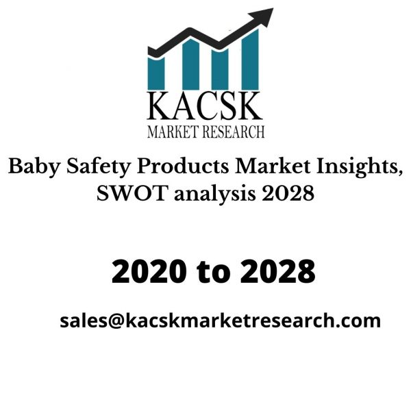 Baby Safety Products Market Insights, SWOT analysis 2028