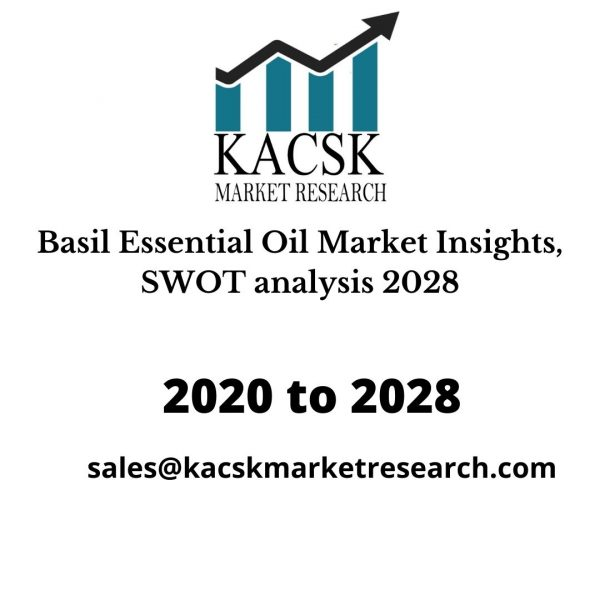 Basil Essential Oil Market Insights, SWOT analysis 2028
