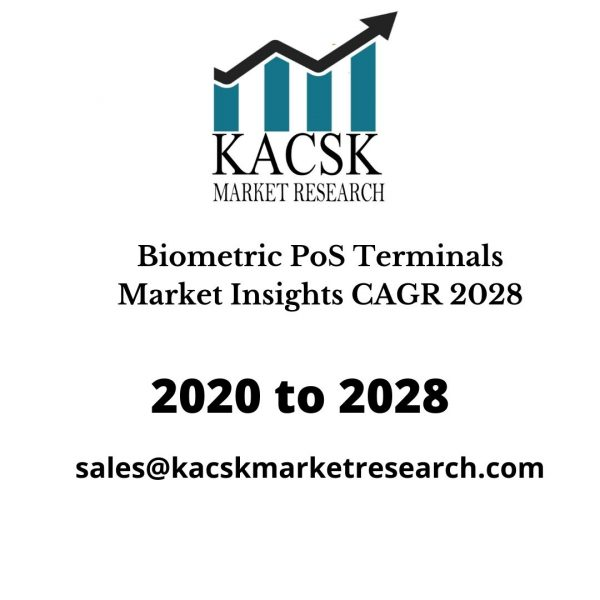 Biometric PoS Terminals Market Insights CAGR 2028