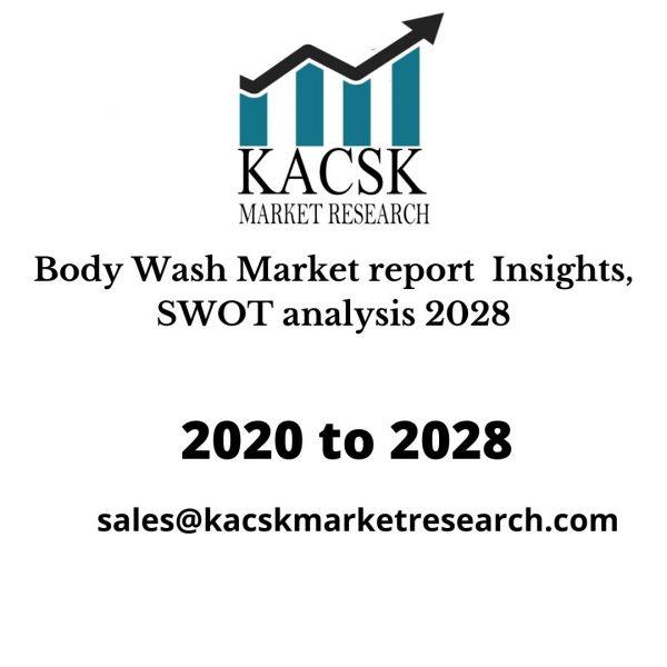 Body Wash Market report Insights, SWOT analysis 2028