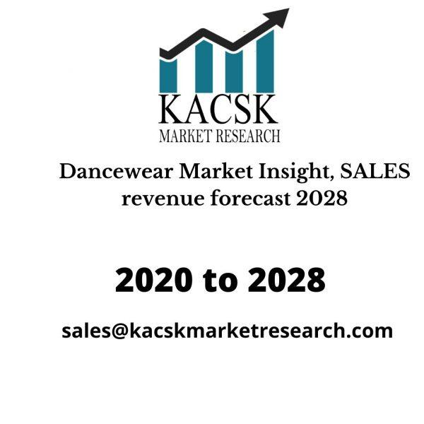 Dancewear Market Insight, SALES revenue forecast 2028