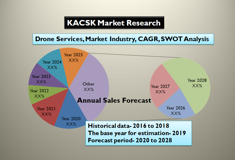 Drone Services Market Size, Market Industry, CAGR, SWOT Analysis