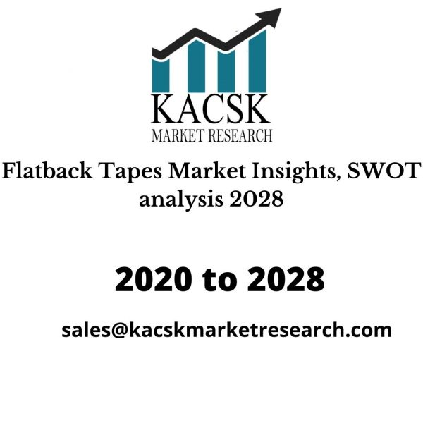 Flatback Tapes Market Insights, SWOT analysis 2028