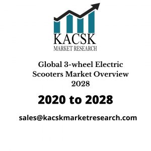 Global 3-wheel Electric Scooters Market Overview 2028
