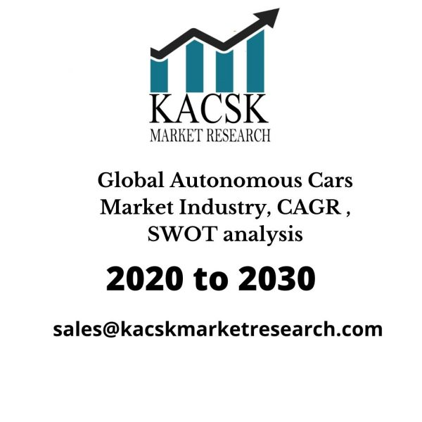 Global Autonomous Cars Market Industry, CAGR , SWOT analysis