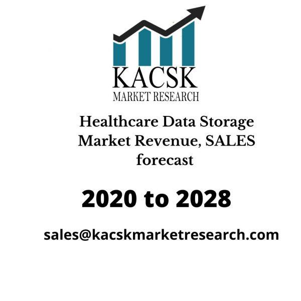 Healthcare Data Storage Market Revenue, SALES forecast