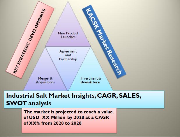 Industrial Salt Market Insights, CAGR, SALES, SWOT analysis