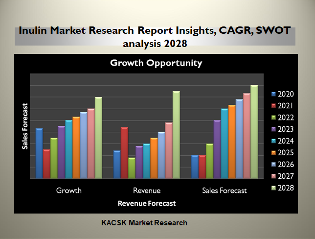 Inulin Market Research Report Insights, CAGR, SWOT analysis 2028