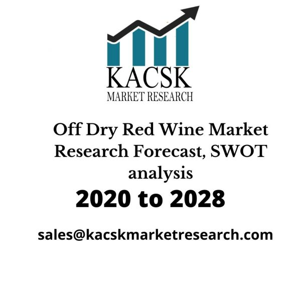 Off Dry Red Wine Market Research Forecast, SWOT analysis