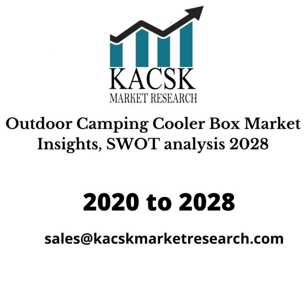 Outdoor Camping Cooler Box Market Insights, SWOT analysis 2028
