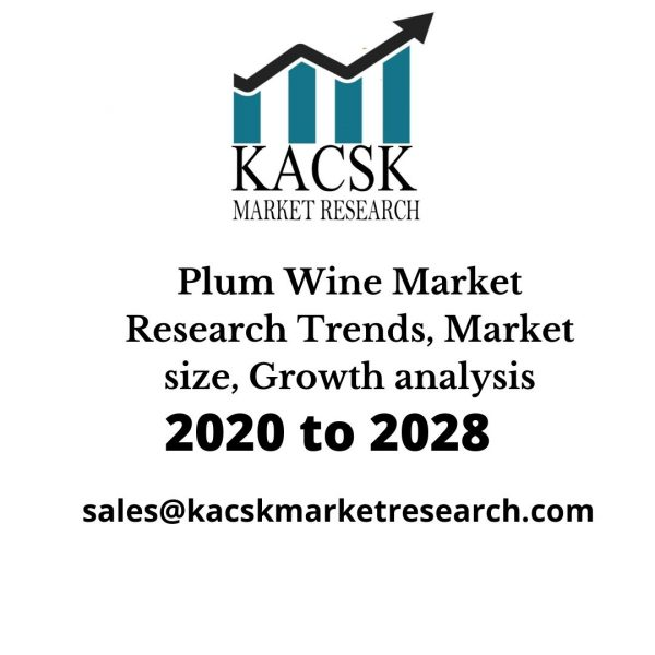 Plum Wine Market Research Trends, Market size, Growth analysis