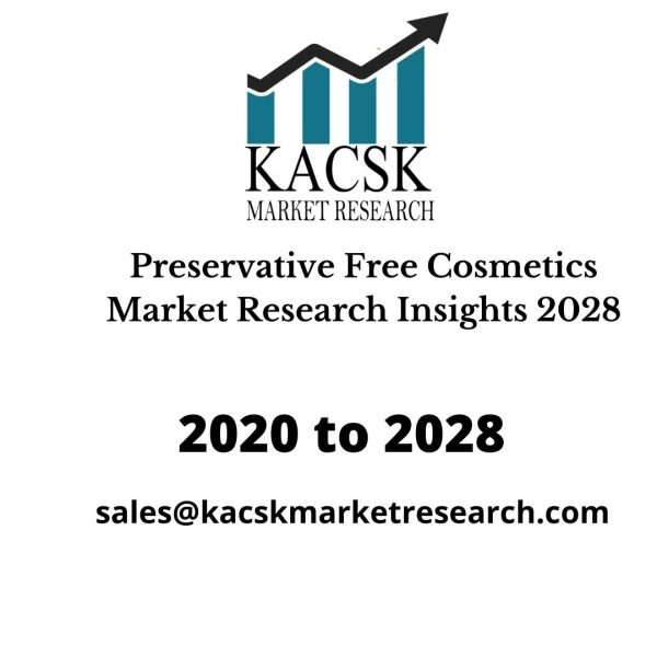 Preservative Free Cosmetics Market Research Insights 2028