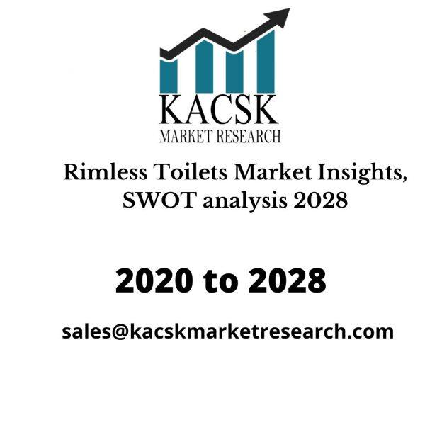 Rimless Toilets Market Insights, SWOT analysis 2028
