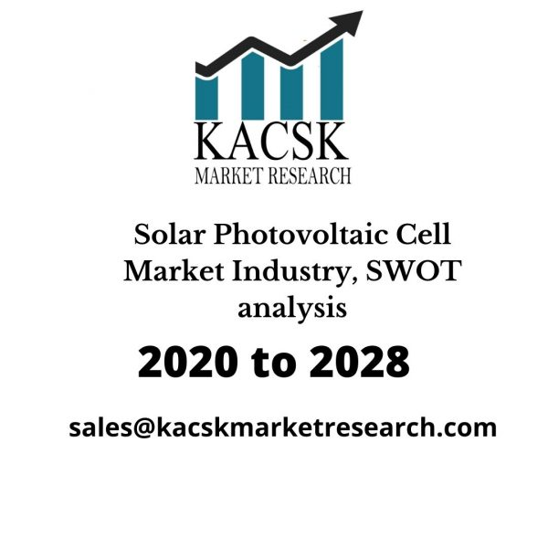 Solar Photovoltaic Cell Market Industry, SWOT analysis