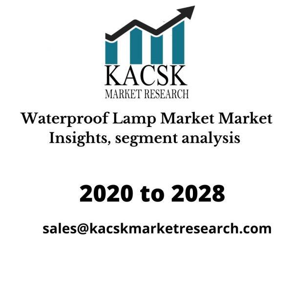 Waterproof Lamp Market Insights, segment analysis