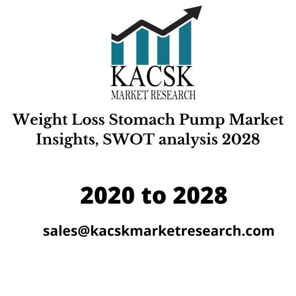 Weight Loss Stomach Pump Market Insights, SWOT analysis 2028