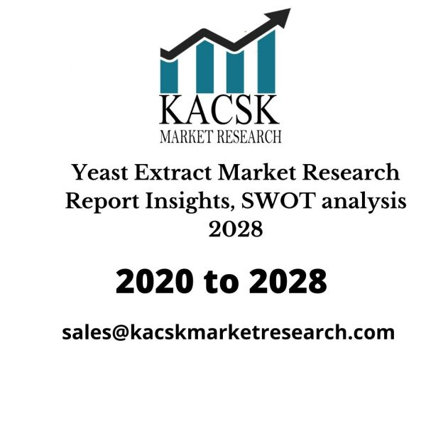 Yeast Extract Market Research Report Insights, SWOT analysis 2028