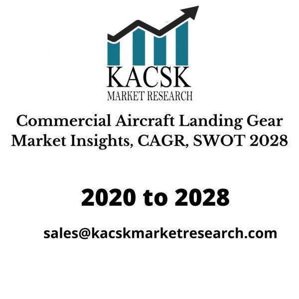 Commercial Aircraft Landing Gear Market Insights, CAGR, SWOT 2028