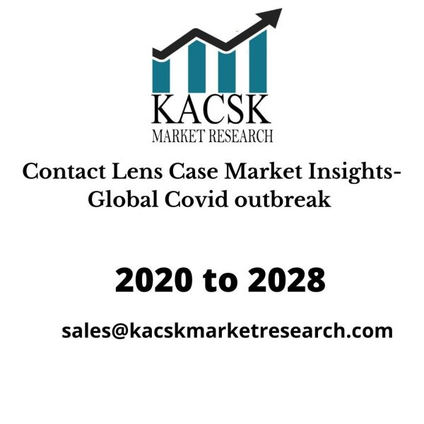 Contact Lens Case Market Insights- Global Covid outbreak