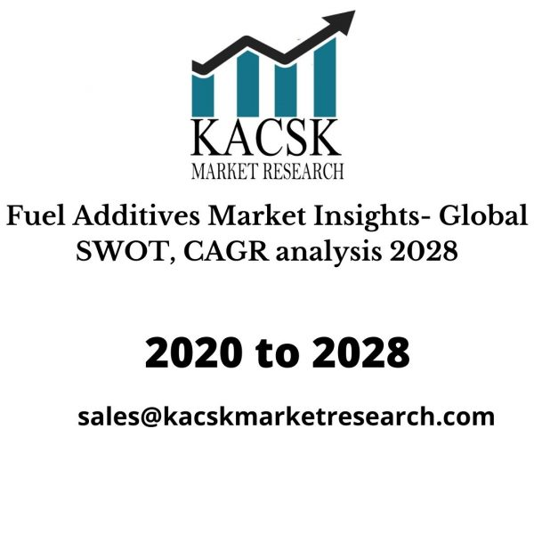 Fuel Additives Market Insights- Global SWOT, CAGR analysis 2028