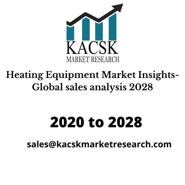 Heating Equipment Market Insights- Global sales analysis 2028