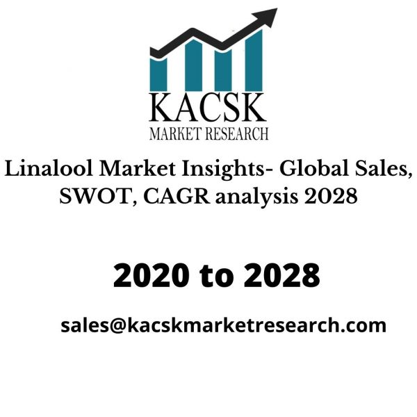 Linalool Market Insights- Global Sales, SWOT, CAGR analysis 2028