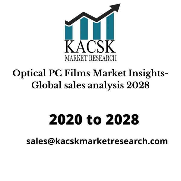 Optical PC Films Market Insights- Global sales analysis 2028