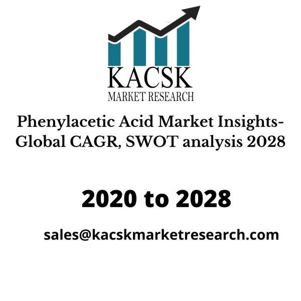 Phenylacetic Acid Market Insights- Global CAGR, SWOT analysis 2028