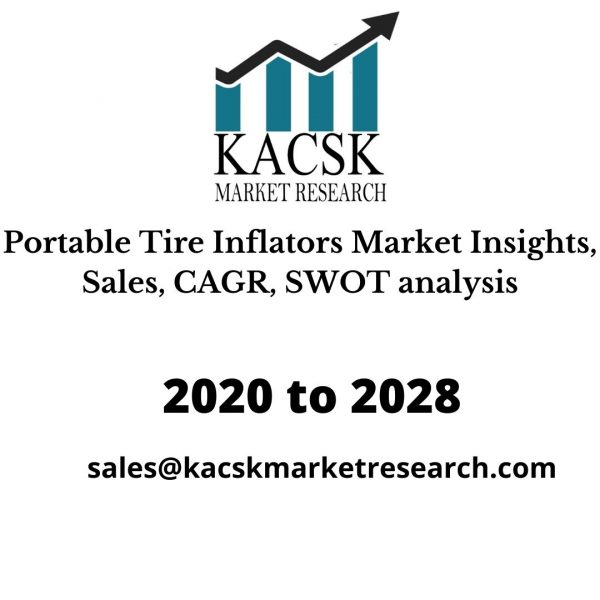 Portable Tire Inflators Market Insights, Sales, CAGR, SWOT analysis