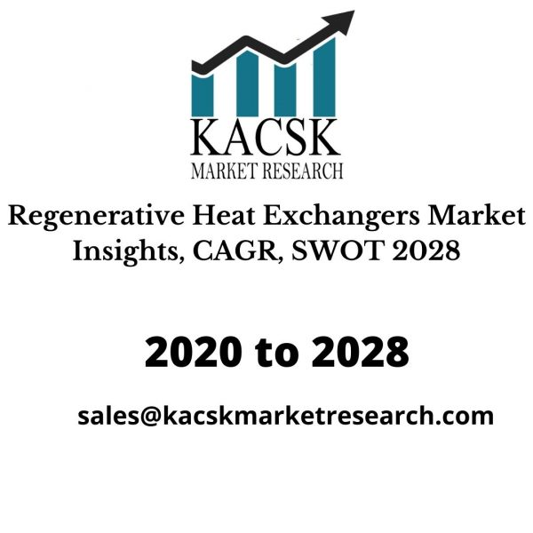 Regenerative Heat Exchangers Market Insights, CAGR, SWOT 2028