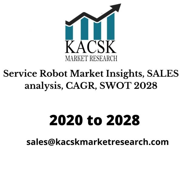 Service Robot Market Insights, SALES analysis, CAGR, SWOT 2028