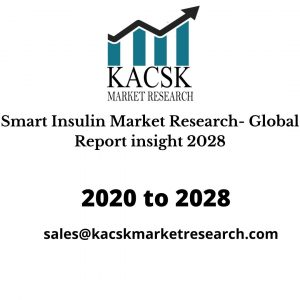 Smart Insulin Market Research- Global Report insight 2028