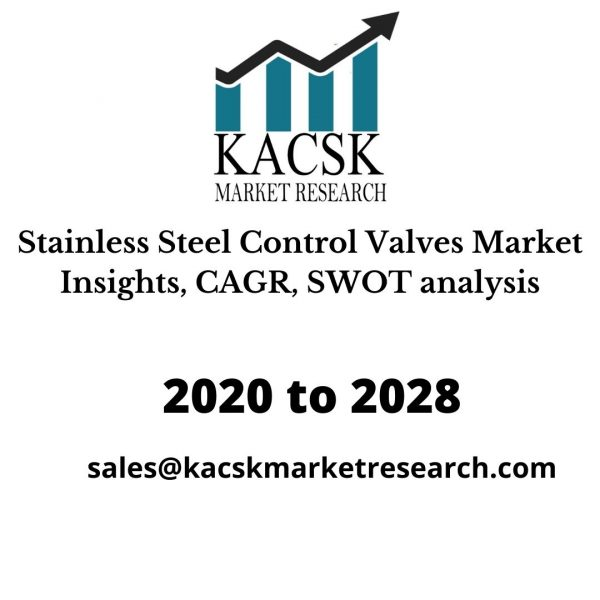 Stainless Steel Control Valves Market Insights, CAGR, SWOT analysis