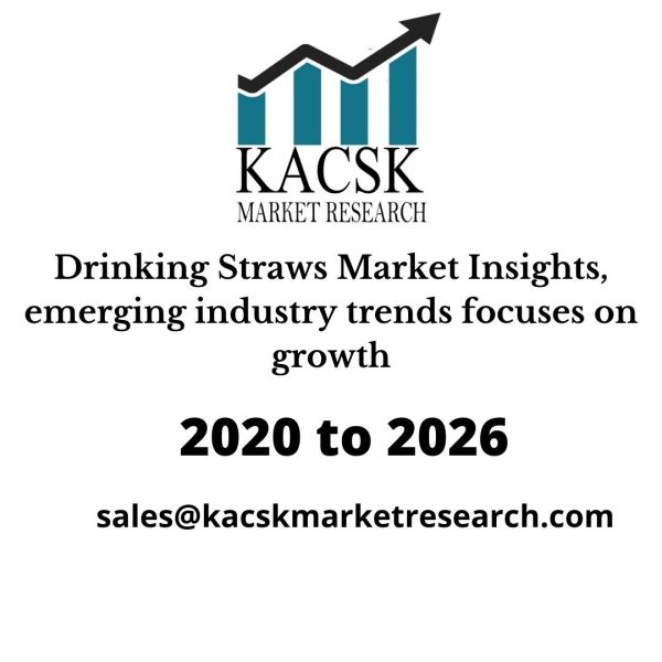 Drinking Straws Market Insights, emerging industry trends focuses on growth
