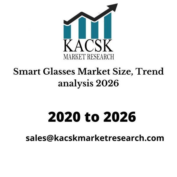 Smart Glasses Market Size, Trend analysis 2026